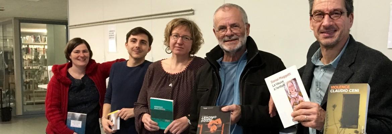 Auteurs sélectionnés pour la 8e édition du Roman des Romands