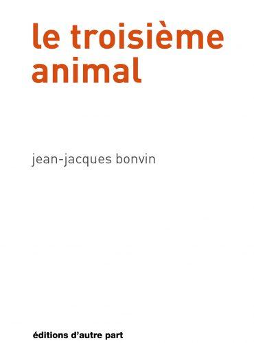 image du livre le troisième animal