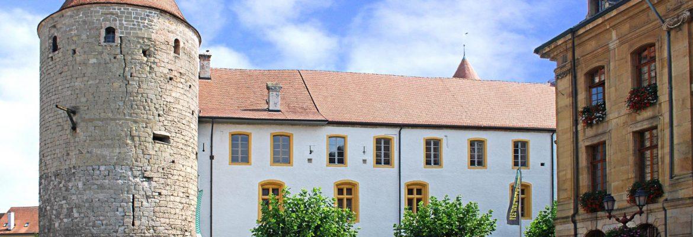 Alain Bagnoud et Rose-Marie Pagnard au Château d'Yverdon